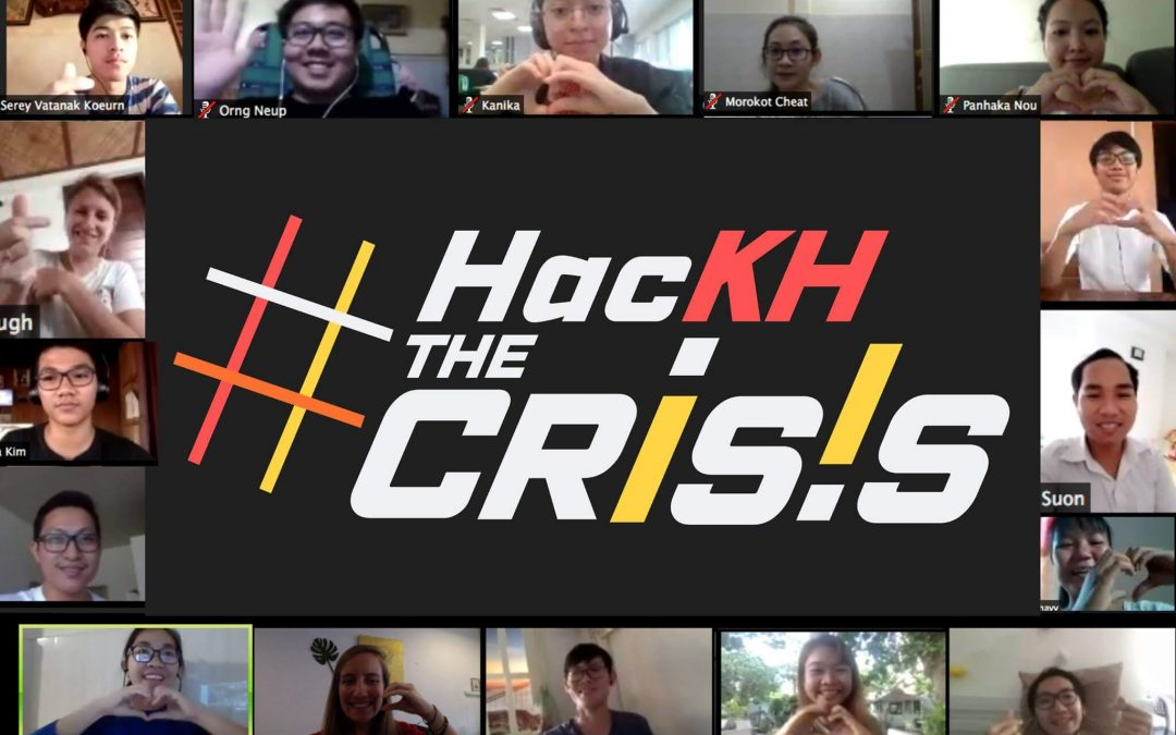 Online Hackathon to Fight COVID-19 in Cambodia, Concludes: #HacKHtheCrisis